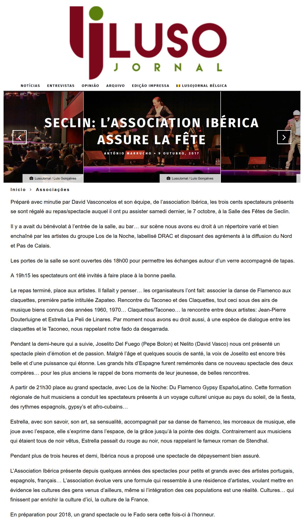 17 10 09 - IB - LUSOJORNAL - Flamenco Gypsy LIlle Seclin
