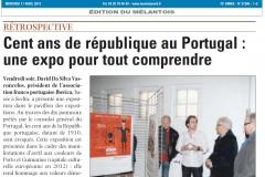 12 04 11 - Exposition Sur le centenaire de la république Portugaise - vdn iberica2