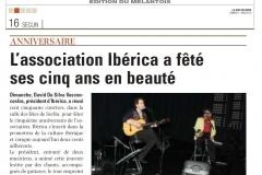 13 05 11 - spectacle iberica ldn du 5 mai