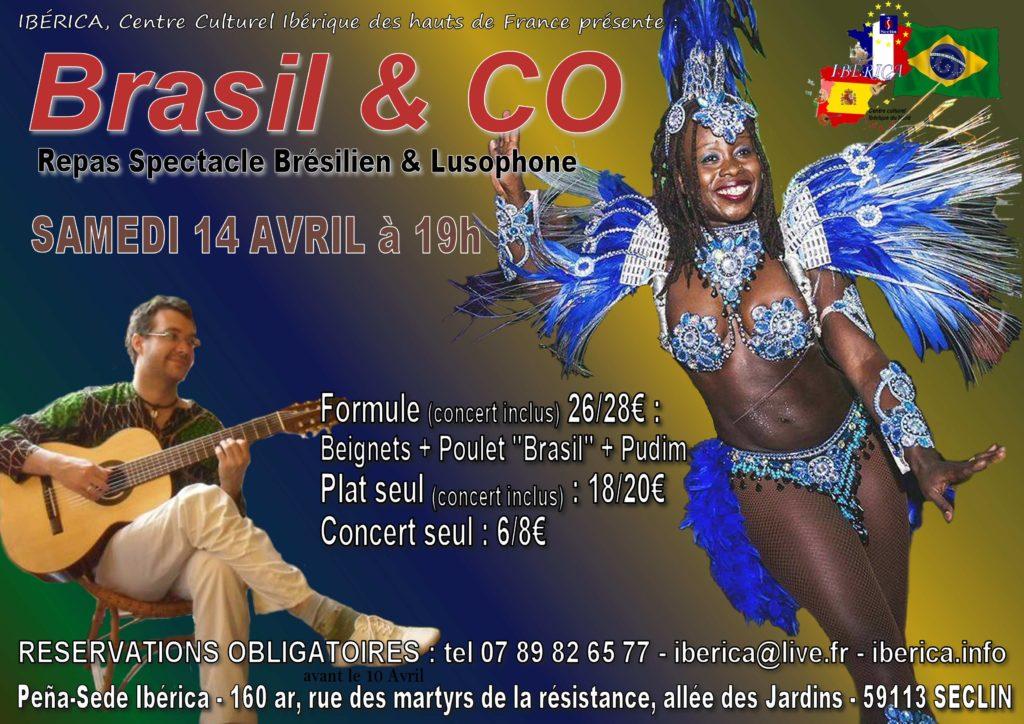 spectacle brésilien danseuse brésilienne lille nord pas de calais picardie Ibérica