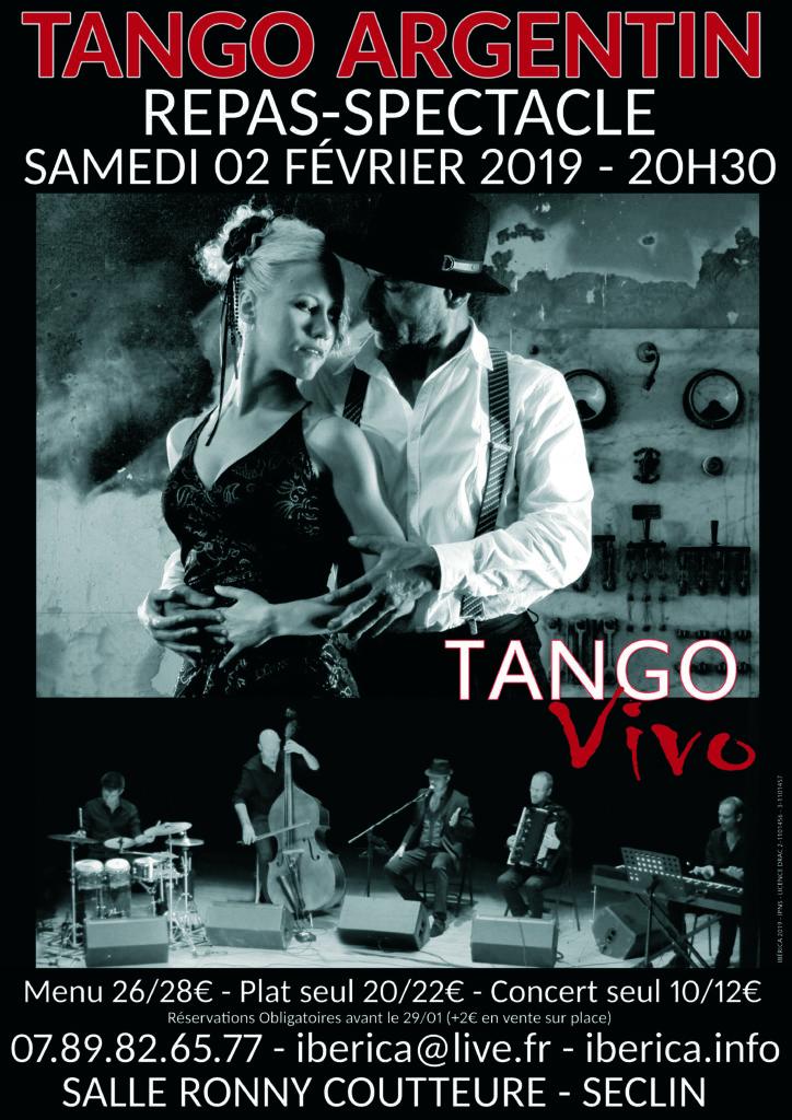 Spectacle de tango argentin lille Seclin arras Boulogne calais dunkerque valenciennes maubeuge belgique chant danse musique Hauts de France Paris