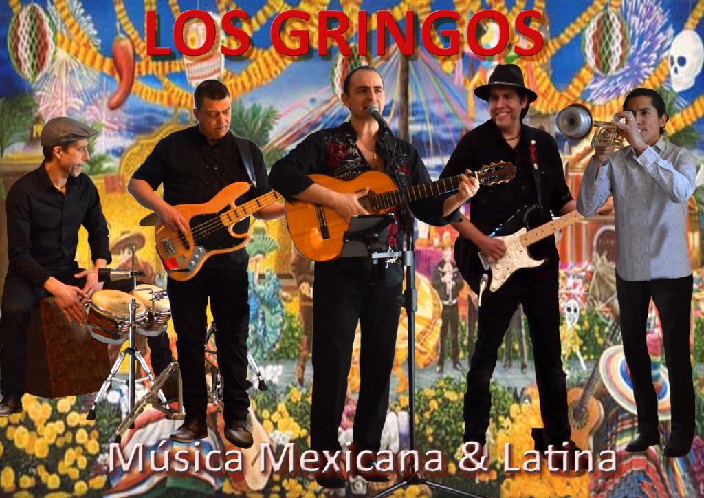 LOS GRINGOS groupe mexicain latino lille Nord pas de Calais picardie Música Mexicana