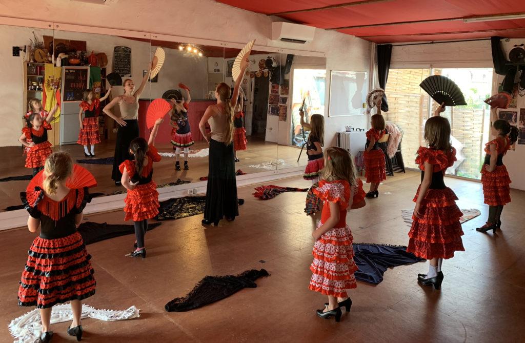 flamenco enfants lille nord pas de calais picardie Hauts de France F