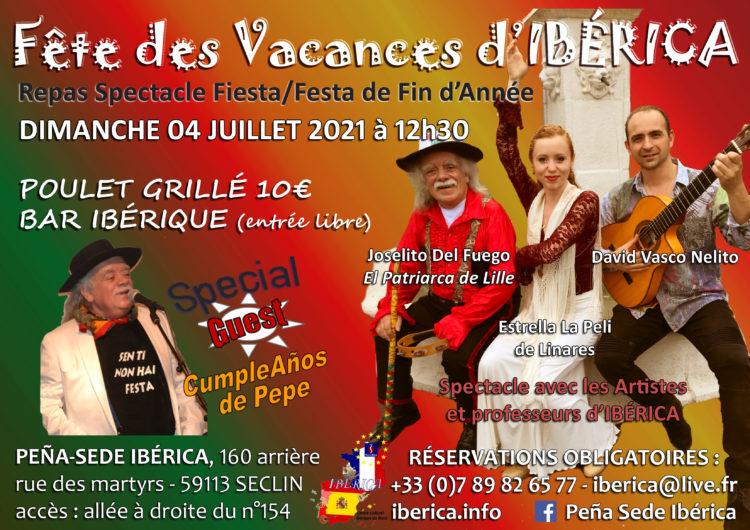 concert repas Espagnol Flamenco Gypsy Lille Seclin Nord Pas de Calais Picardie