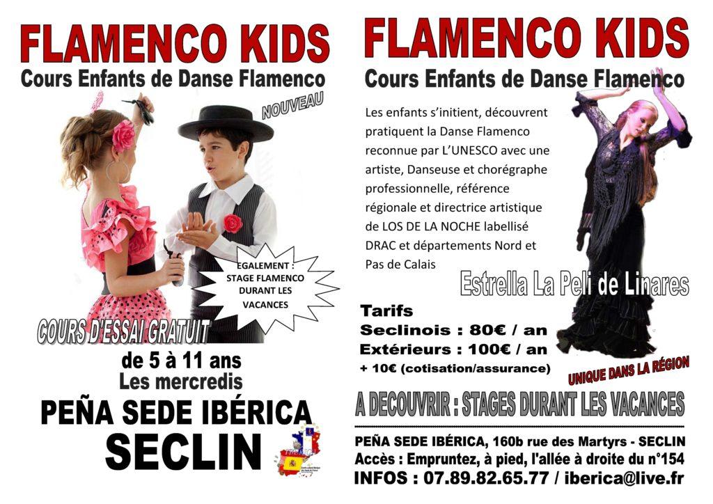 flamenco enfants Lille Nord pas de Calais Picardie Hauts de France