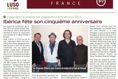 13 01 19 - articulo lusojornal - reunion iberica